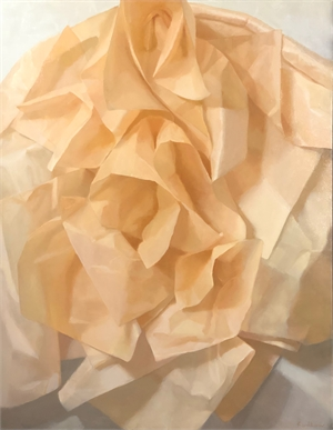 Apricot Tissue by Judith Pond Kudlow