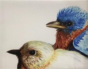 Baby Bluebirds (/1), 2019
