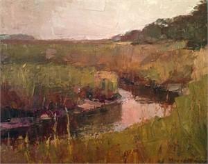 Marsh in Ochre Tones