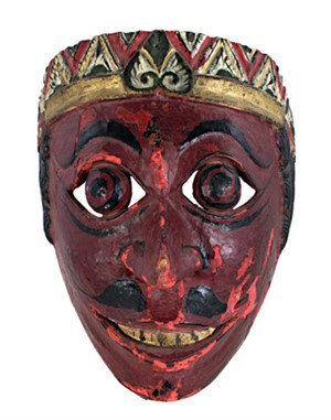 Wooden Mask, 19th Century