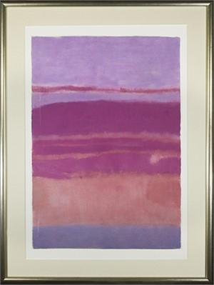 Landscape Pink & Red, 1970