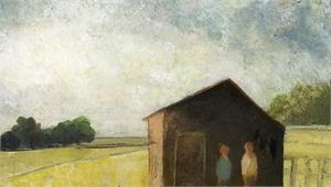 Red Barn by David Brayne R.W.S.