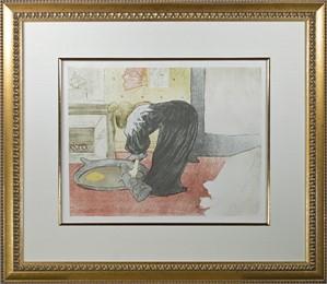 Femme au Tub-Le Tub, 1896