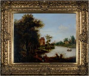 A Dutch Canal, c.1650