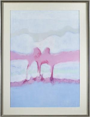 Landscape Blue, Violet, White, 1970
