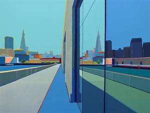 Cityscape Reflection, San Francisco by Timothy Mulligan
