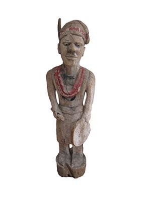 Spiritual Healer Statue Igbo Tribe-Village of ABA, Nigeria, c. 1890
