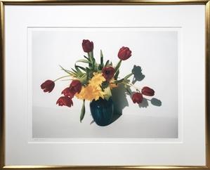 Birthday Bouquet in Blue Vase, 2003