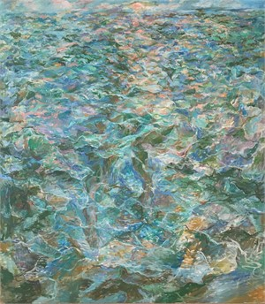 Large Figure in the Sea, 1975