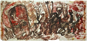 Angel with Figures, c. 1992
