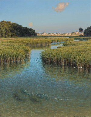 Moonrise in Afternoon Light (The Florida Waterways Series)