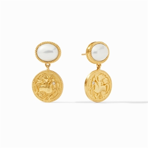 Coin Midi Earring, 2020