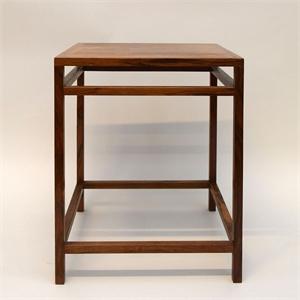 SMALL SIDE TABLE DESIGNED BY EJNER LARSEN & AKSEL BENDER MADSEN FOR WILLY BECK , Denmark, 1950s