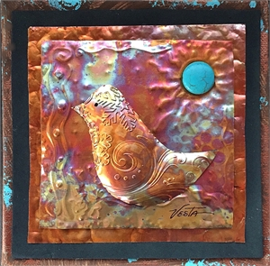 Copper Wall Hanging - Assorted Designs Small, 2019