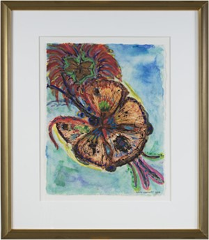 Giant Hybrid Hibiscus Butterfly with Flower, 2004