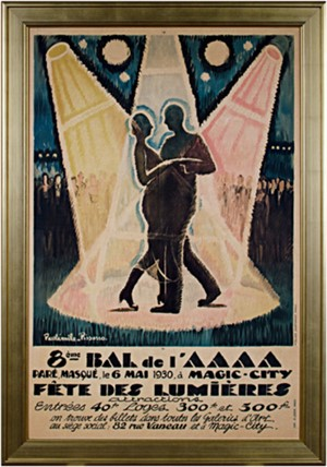 Bal de l'AAAA Festival of Light, 1930