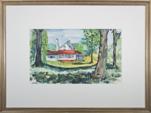 David Barnett's Beaver Lake Cottage, 1980