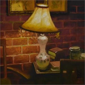 Ma's Lamp  by Steven Walker