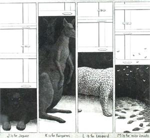 Garage Bestiary J, K, L, M 11/60 (11/60)