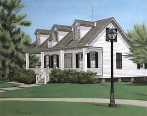 Sam Houston Park House