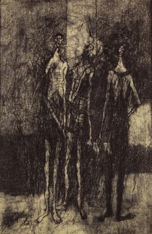 Untitled (Three Men), 1949