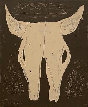 Cow Skull, 2020