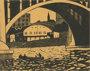 North Avenue Viaduct, Milwaukee, 1936