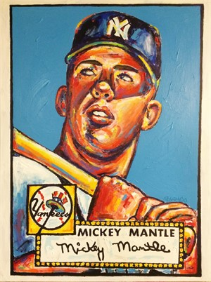 Mickey Mantle, 2018
