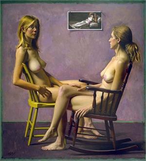 "DANIEL E. GREENE, OPAM, ""Clothed Maja"""