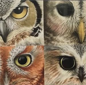 Four Owl Eyes (/1), 2019
