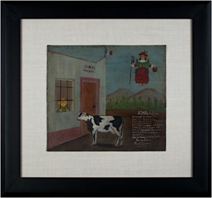 Retablo Exvotos (Peasant Released from Jail by Cow), 1939
