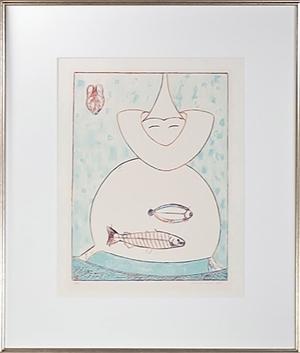Untitled (Fish), signed Ed: 6/79, c1970