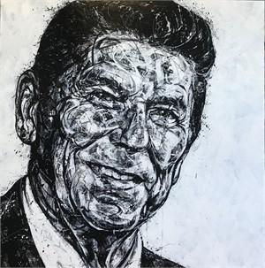 Portrait of Reagan