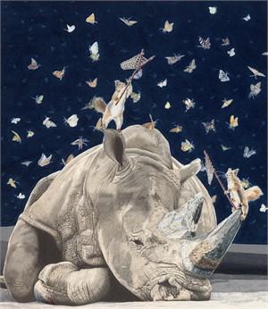 Lepidopterphobic Rhinoceros (50/50)