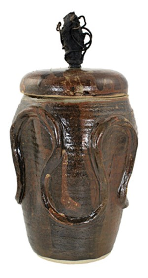 Cover Jar w/ Grapevines, 1997