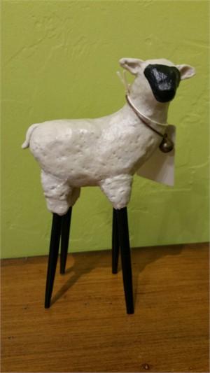 Ewe - Clay Sheep, 2019