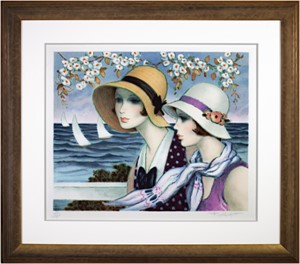 Femmes au Bord de la Mer (Women on the Edge of the Sea) (140/200), 1986