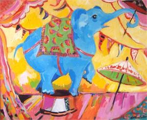 Performing Elephant