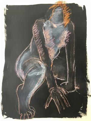Untitled Figurative Artwork, 1989