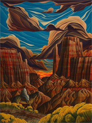 Giclee - Arizona Monument  (2/50), 2018