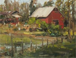 """STEPHANIE AMATO, """"Wright Mills Farm"""""""