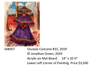 Osceola Costume #15, 2019