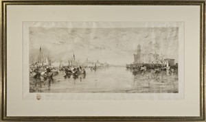 The Harbor of Vera Cruz, Mexico (Klackner #53), 1885