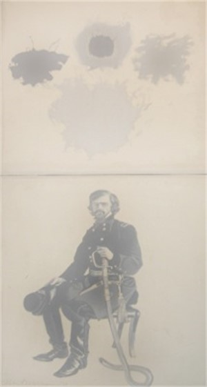 Seated General with Cloudburst