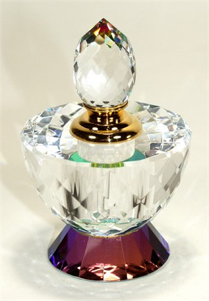 "Crystal Purfume Bottle - 4.25 ""x2.5""-L"