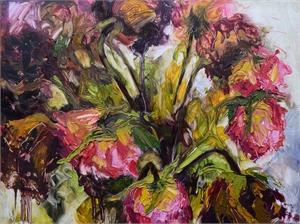 Dying Roses by Chloe McEldowney