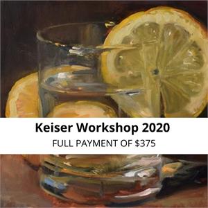KEISER WORKSHOP 2020 - FULL PAYMENT OPTION
