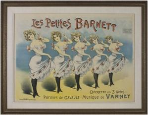 Les Petites Barnett, c.1890