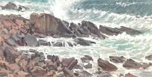 Bass Rocks Surf
