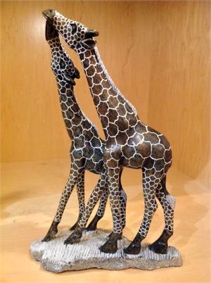 """""""Kissing Giraffes"""", 2019"""